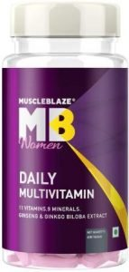 MuscleBlaze Women Daily Multivitamin, Best Multivitamin for Women