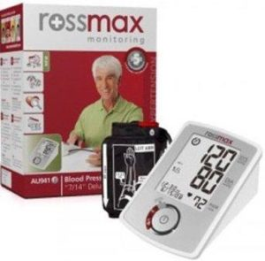Rossmax AU941f 7 14 Blood Pressure Monitor