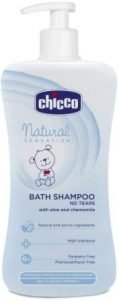 Chicco Natural Sensation Bath Shampoo, Best Baby Shampoo in India