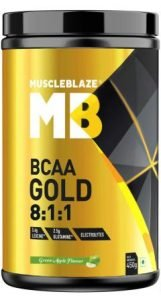 MuscleBlaze BCAA Gold the Best Branched Chain Amino Acid in India