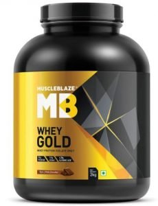 MuscleBlaze Whey Gold 100Whey Isolate Protein Suppliment