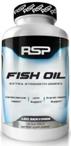 RSP Nutrition Fish Oil, Omega 3s, Heart, Brain and Joint Health - 120 Capsules