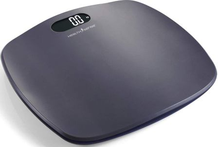 HealthSense Ultra-Lite PS 126 Digital Personal Body Weight Scale with STEP-On Technology