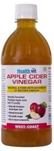 HealthVit Apple Cider Vinegar with Mother Vinegar