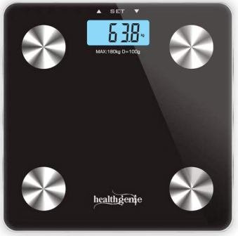 Healthgenie Body Fat Analyzer Weighing Scale