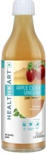 Healthkart Apple Cider Vinegar with Mother, Raw Apple Cider Vinegar 2021