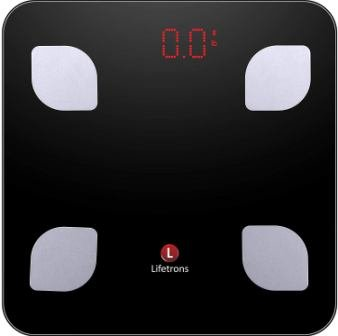 Lifetrons Smart Body Composition Digital Weighing Scale and Fat Analyzer to Monitor Weight Loss