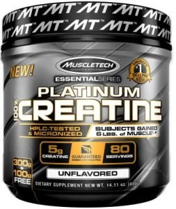 Muscletech Micronized Creatine Essential Series the Best Creatine in India