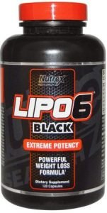 NUTREX LIPO-6 Black 120 Caps, the Best Fat Burner in India
