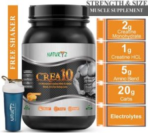 Naturyz Crea10, Best Creatine Supplement