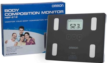 Omron HBF 212 Digital Full Body Composition Monitor, best weighing machine