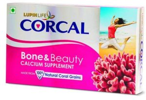 Corcal Bone and Beauty the best Calcium tablets for Women