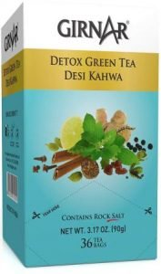 Girnar Detox Green Tea - Desi Kahwa