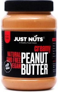 Just Nuts All Natural Creamy Peanut Butter 1 kg