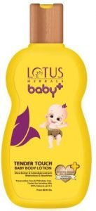 Lotus Herbals Baby+ Tender Touch Top Baby Body Lotion