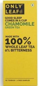 Onlyleaf Chamomile Green Tea, 27 Tea Bags