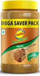 Sundrop Peanut Butter Crunchy with 26gram protein