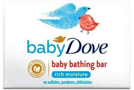 Baby Dove Rich Moisture Bar for Sensitive Skin