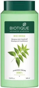 Biotique Bio Neem Margosa Anti Dandruff Shampoo for Men