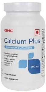 Gnc Calcium Citrate 1000 MG with Magnesium and Vitamin D3