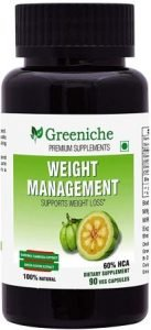 Greeniche Weight Management Natural and Herbal Garcinia Cambogia