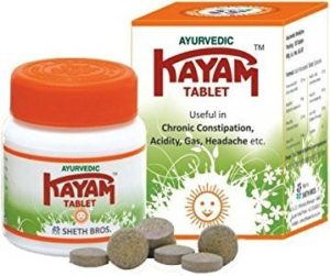 Kayam Tablet for Constipation
