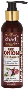 Khadi Global Onion Shampoo with Caffeine Curry Leaf