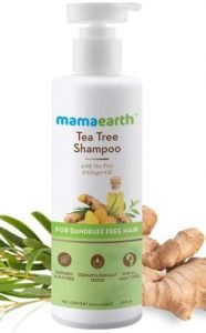 Mamaearth Tea Tree Anti Dandruff Herbal Shampoo