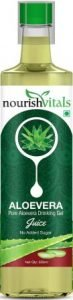 Nourish Vitals Pure Aloe Vera Drinking Gel Juice, Best Aloe Vera Juice