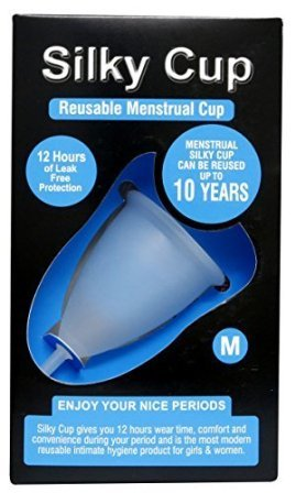 Silky Cup Top Reusable Menstrual Cup for ladies