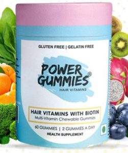Power Gummies Hair Vitamin with Biotin