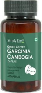 Simply Earth Green coffee Garcinia Cambogia