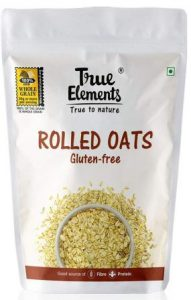 True Elements Rolled Oats the top Oats in India
