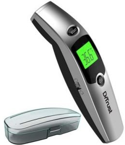 Trust (USA) Clinical Digital I-Check Forehead Ear Infrared Temperature Thermometers