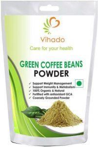 Vihado Nutrition Green Coffee Beans Powder