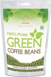 Vihado Organic Green Coffee beans