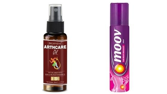 Best pain relief spray