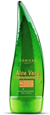 Cenizas 99% Pure Paraben Free Aloe Vera Gel Multipurpose for Skin and Hair