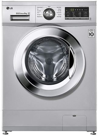 LG FH2G6TDNL42 8.0 Kg Inverter Best Front Load Washing Machine