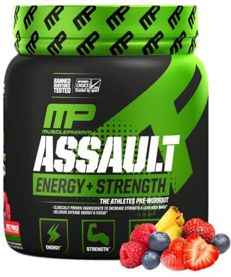 MusclePharm Assault Pre Workout, Best Pre Workout