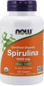 Now Foods Certified Organic Spirulina
