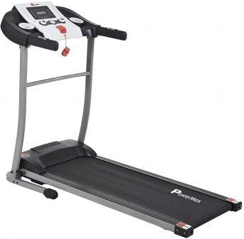 PowerMax Fitness TDM-98 1.75HP (3.5HP Peak) Motorized Treadmill with Free Installation