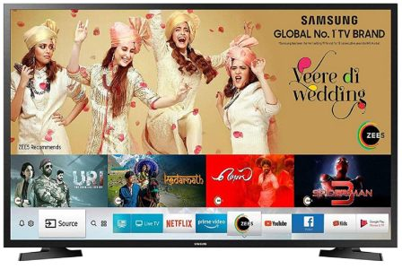 Samsung 100 cm (40 Inches) Smart 7-in-1 Full HD Smart LED TV 2021