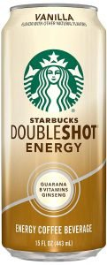 Starbucks, Doubleshot Energy Coffee