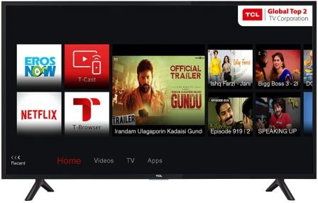 TCL 100.3 cm (40 Inches) Full HD LED Smart TV 2021
