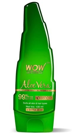 WOW Aloe Vera Multipurpose Beauty Gel for Skin and Hair, Best Aloe Vera gel
