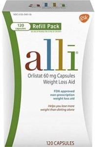 Alli Weight Loss Diet Pills