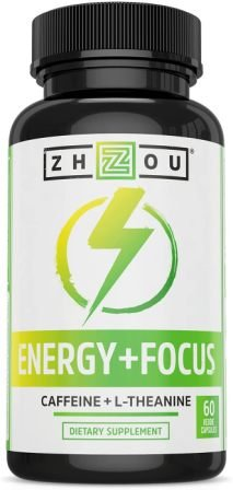 Caffeine with L-Theanine for Smooth Energy & Focus - Focused Energy for Your Mind & Body