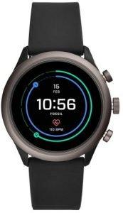 Fossil Sport Smartwatch 43mm Black - FTW4019