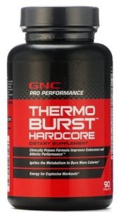GNC Thermoburst Hardcore (Thermogenic Fat Burner)